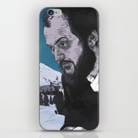 stanley kubrick iPhone & iPod Skins featuring Stanley Kubrick by Andy Christofi