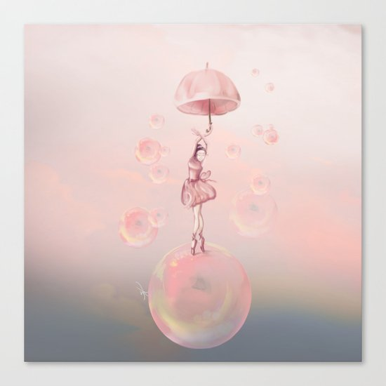 Dance in the dream Canvas Print