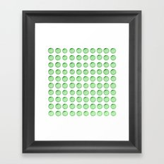 Little Balls (of various sizes) Framed Art Print