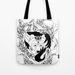 Glam-Bear Tote Bag