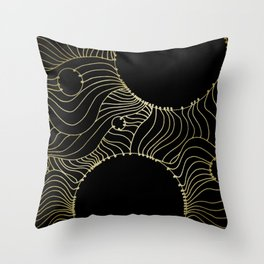 Connectivity Throw Pillow