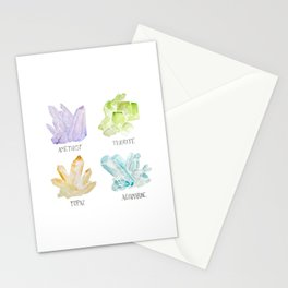 Rock collector Stationery Cards