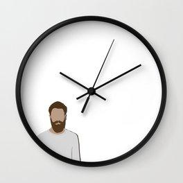 FULL BEARD Wall Clock