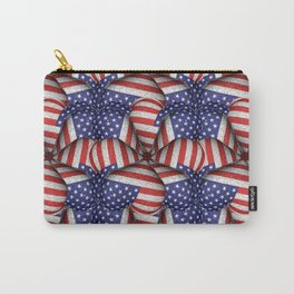 4th of July Modern Usa Flag Pattern Carry-All Pouch