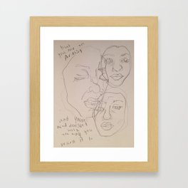 The Front Bottoms Framed Art Print