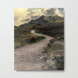 Mountains o Skye Island Metal Print