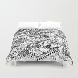 ARUP Fantasy Architecture Duvet Cover