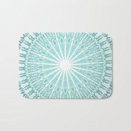 Mint Mandala Bath Mat