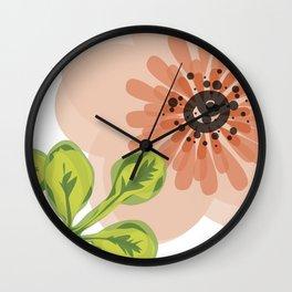 Flowers everywher Wall Clock
