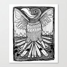 Happy Bird Canvas Print