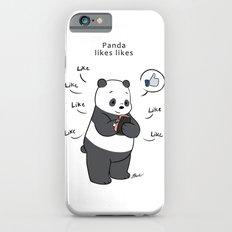 Panda likes Likes  Slim Case iPhone 6s