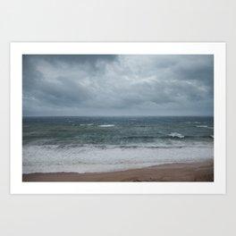 Tropical Storm Lydia Art Print