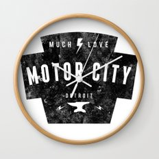 Motor City | Much Love Wall Clock