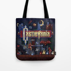 Vania Castle Tote Bag