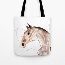 Horses (young lusitanos) Tote Bag
