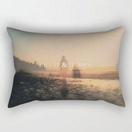 Will It & It Will Rectangular Pillow