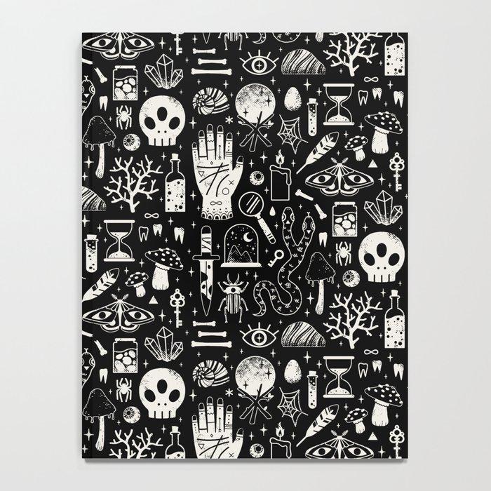 Curiosities: Bone Black Notebook