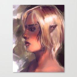 dragon age ¦ zevran arainai Canvas Print