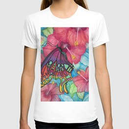 Wings And Flora T-shirt
