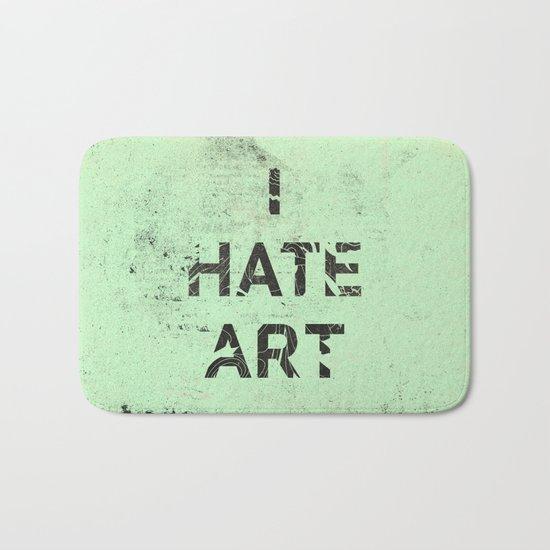 I HATE ART / PAINT Bath Mat