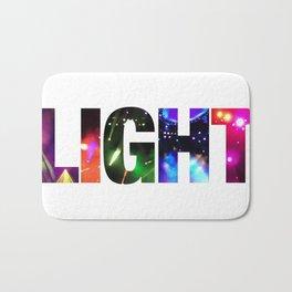 Phish Light Text Bath Mat