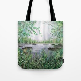 A place for light Tote Bag