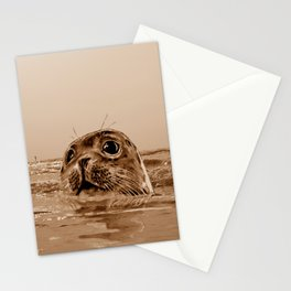 The SEAL - sepia 17 Stationery Cards