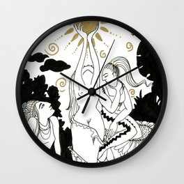 Incantation Wall Clock
