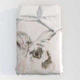 Pixie the Lionhead Rabbit by Teresa Thompson Comforters