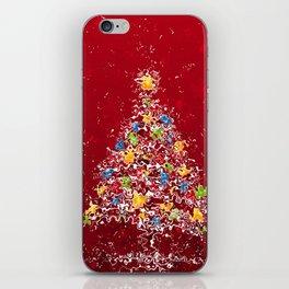 Christmas tree iPhone Skin