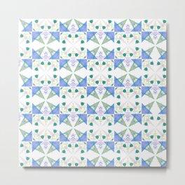 Geometric Spring 2018 Pantones Metal Print