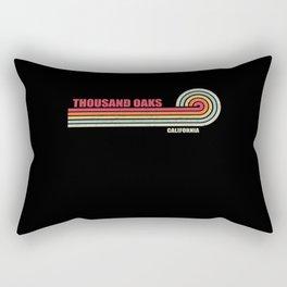 Thousand Oaks California City State Rectangular Pillow
