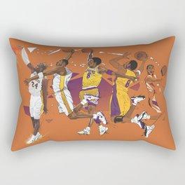 Mamba Mentality Rectangular Pillow