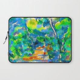 Paul Cezanne Forest Scene Laptop Sleeve