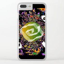 Wind 02 Clear iPhone Case