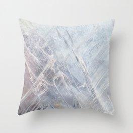 Linear Quartz Throw Pillow