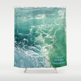Seas 2 Shower Curtain