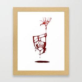 Blood of Ghouls Framed Art Print