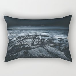 Courted by sirens Rectangular Pillow