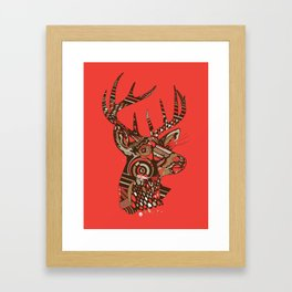 ROAD KILL ~ RED Framed Art Print