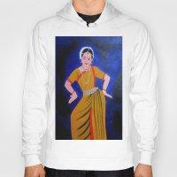 dancer Hoodies featuring Dancer by Priyanka Rastogi