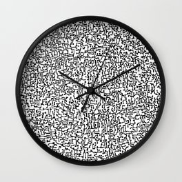 a thought Wall Clock