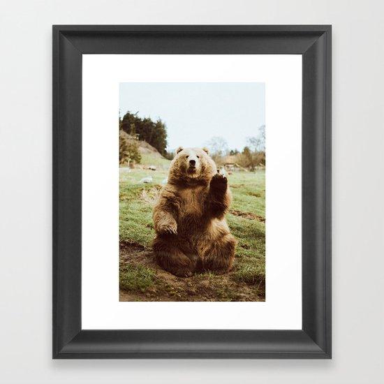 Hi Bear by beccatapert