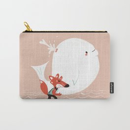 Fox and Whale Carry-All Pouch