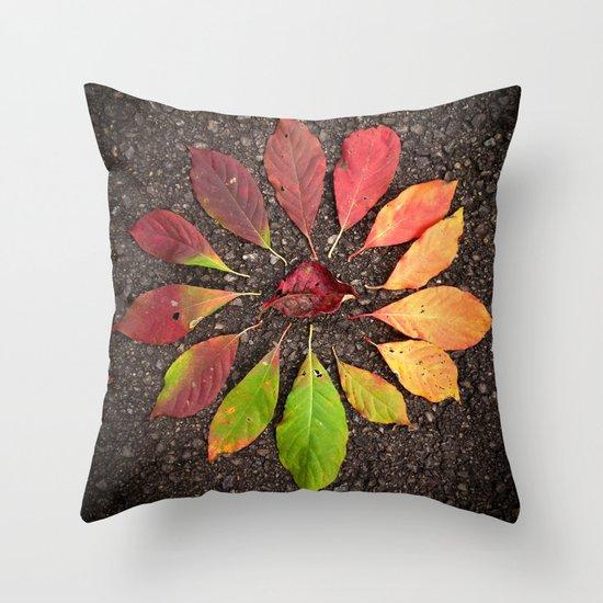 Leaf Love No.1 Throw Pillow