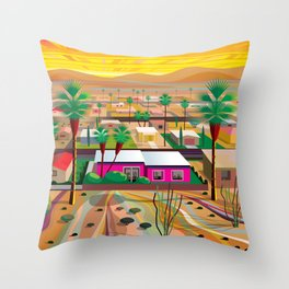 Twentynine Palms Throw Pillow