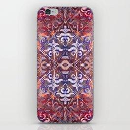 Lilly revolution geometry II iPhone Skin
