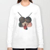 ladybug Long Sleeve T-shirts featuring Ladybug by fabiotir