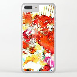 She's a Molotov Cocktail Clear iPhone Case