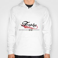 fitness Hoodies featuring Vintage Trophy Fitness by D Λ V I D